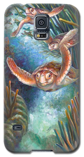 Loggerhead Sea Journey IIi Galaxy S5 Case
