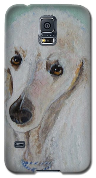 Lola Blue - Painting Galaxy S5 Case by Veronica Rickard