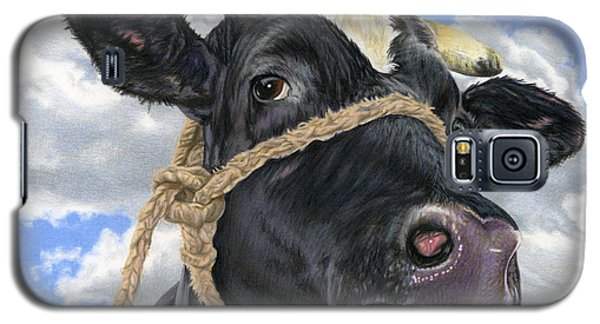 Cow Galaxy S5 Case - Lola by Sarah Batalka