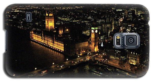 Galaxy S5 Case featuring the photograph London At Night by Katie Wing Vigil
