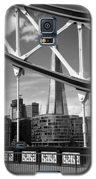 Galaxy S5 Case featuring the photograph London Bridge With The Shard by Chevy Fleet