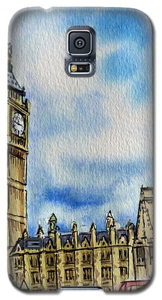 London England Big Ben Galaxy S5 Case