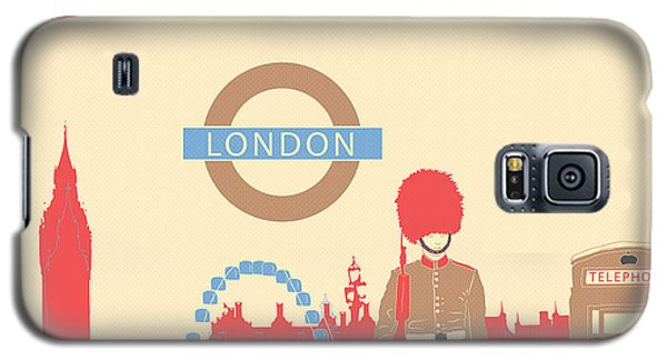 London England Galaxy S5 Case by Famenxt DB