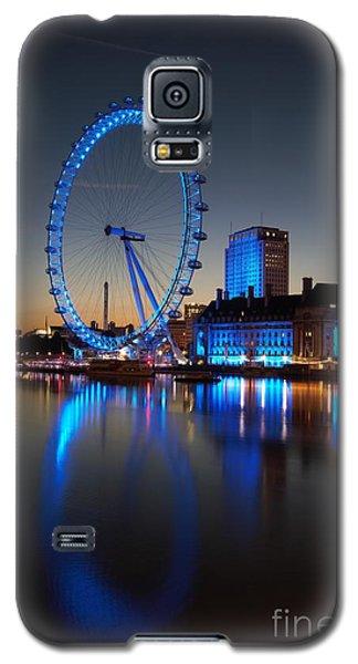 Galaxy S5 Case featuring the photograph London Eye 2 by Mariusz Czajkowski