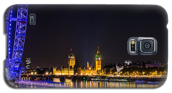 London Eye And  Big Ben Galaxy S5 Case