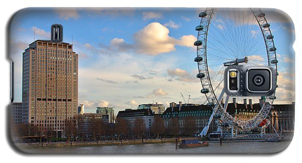 London Eye And Shell Building Galaxy S5 Case