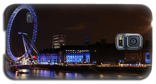 London Eye At Night Galaxy S5 Case