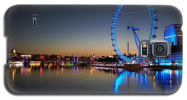 Galaxy S5 Case featuring the photograph London Eye  by Mariusz Czajkowski