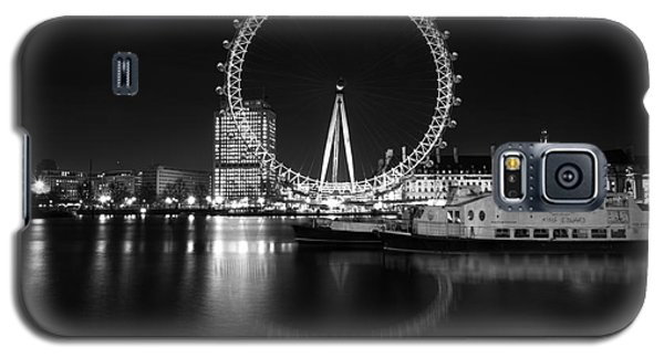 London Eye Mono Galaxy S5 Case by Matt Malloy