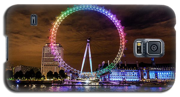 London Eye Pride Galaxy S5 Case by Matt Malloy