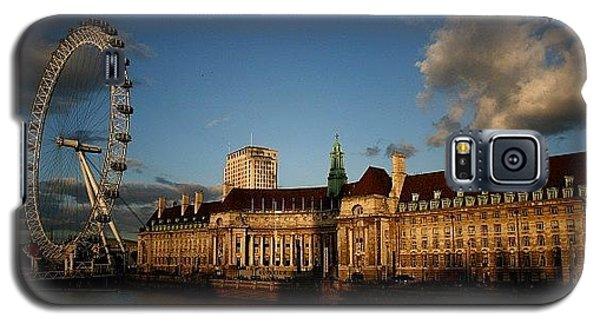 London Galaxy S5 Case - #london #londoneye #westminsterbridge by Ozan Goren