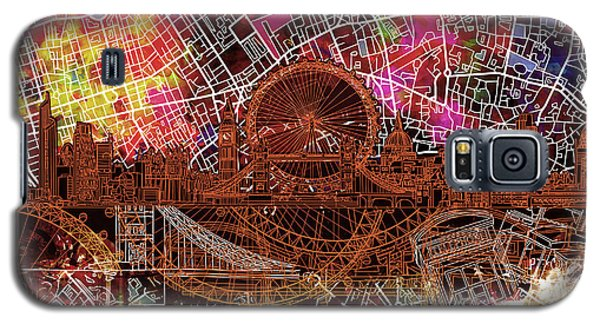 London Skyline Abstract 5 Galaxy S5 Case