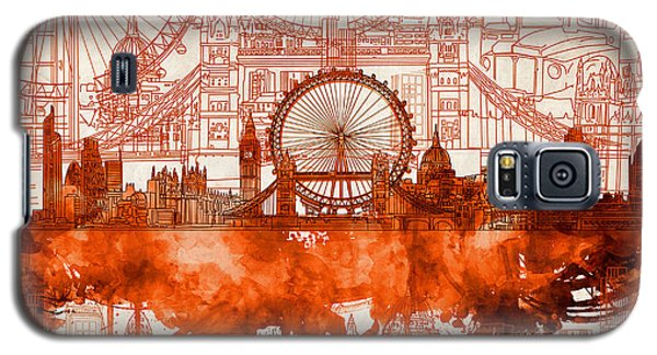 London Skyline Old Vintage 2 Galaxy S5 Case