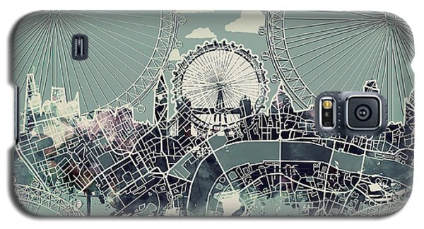 London Skyline Vintage Galaxy S5 Case