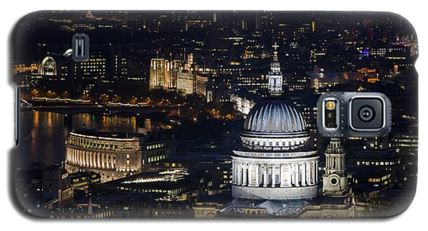 London St Pauls At Night Colour Galaxy S5 Case