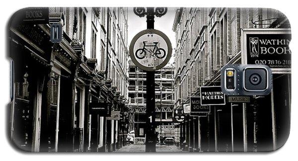 London Street - Monochrome Galaxy S5 Case by David Warrington