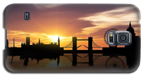 London Sunset Skyline  Galaxy S5 Case