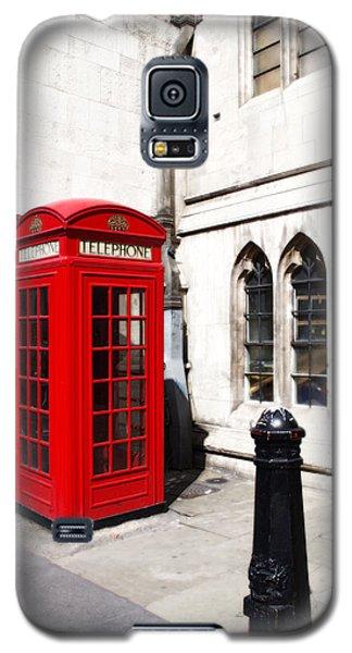 London Telephone Box Galaxy S5 Case