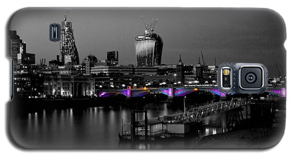 London Thames Bridges Bw Galaxy S5 Case