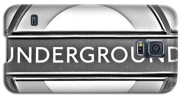 London Galaxy S5 Case - #london #tube #underground by Georgia Fowler
