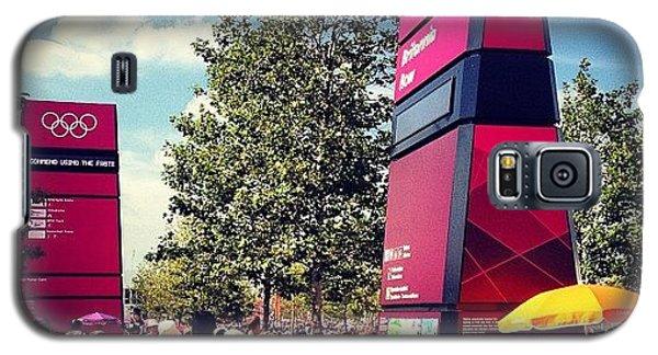 London2012 #london2012 #olympicpark Galaxy S5 Case by Alex Nisbett