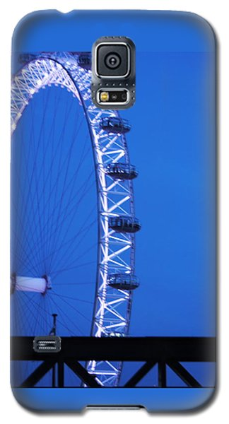 London's Eye At Dusk Galaxy S5 Case