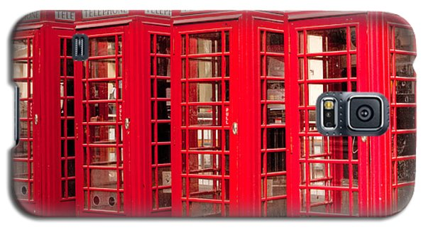 London's Red Phone Boxes Galaxy S5 Case