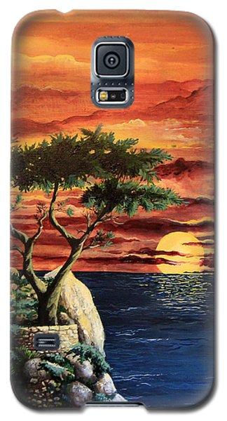 Lone Cypress Galaxy S5 Case