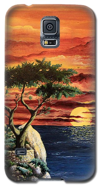 Lone Cypress Galaxy S5 Case