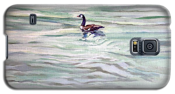 Lone Goose On Hammersley Galaxy S5 Case