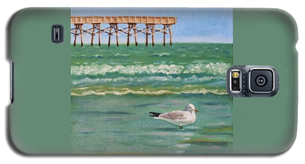 Lone Gull A-piers Galaxy S5 Case