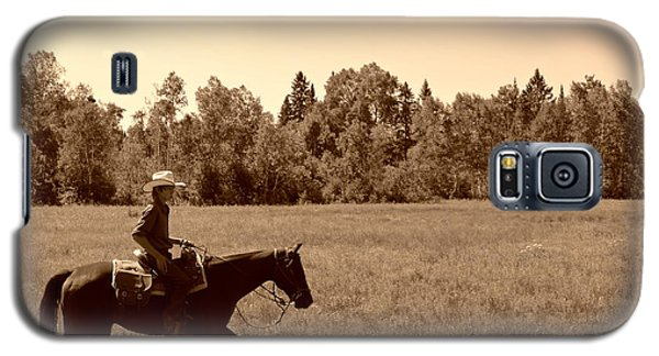 Galaxy S5 Case featuring the photograph Lone Ranger by Sarah Mullin