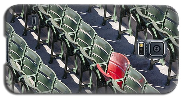 Lone Red Number 21 Fenway Park Galaxy S5 Case