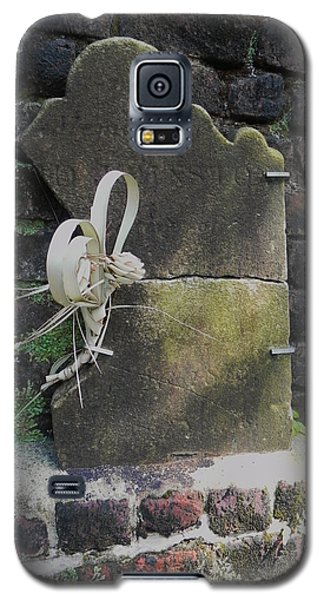 Galaxy S5 Case featuring the photograph Lone Stone by Patricia Greer