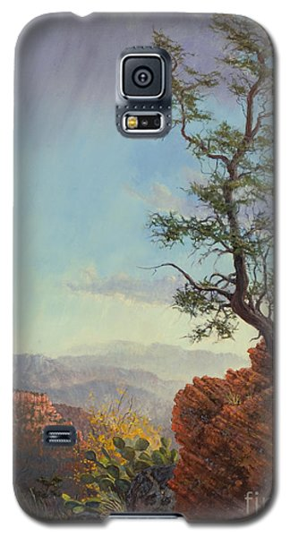 Lone Tree Struggle Galaxy S5 Case