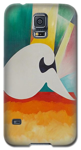 Galaxy S5 Case featuring the painting Loneliness by PainterArtist FIN