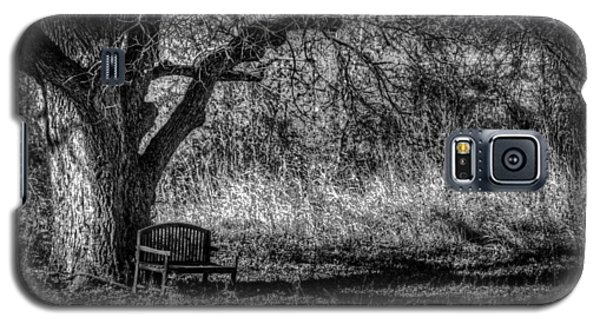 Lonely Bench Galaxy S5 Case by Ross Henton