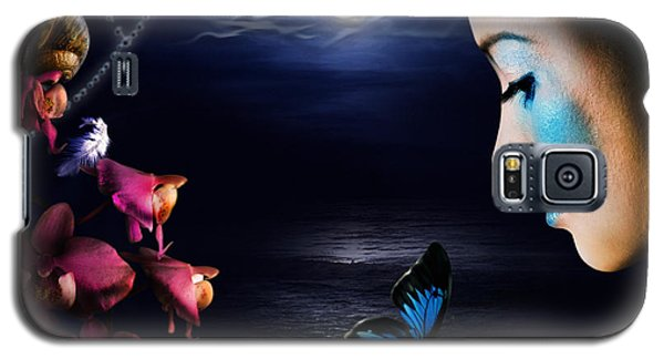 Lonely Blue Princess And The Villains Galaxy S5 Case