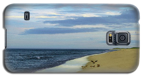 Lonely Cape Cod Beach Galaxy S5 Case