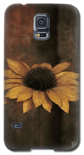 Galaxy S5 Case featuring the photograph Lonely Coneflower by Marjorie Imbeau