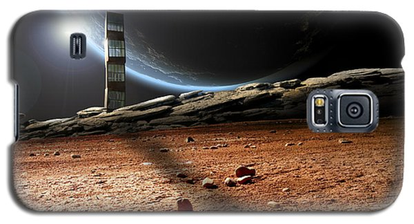 Lonely Outpost II Galaxy S5 Case