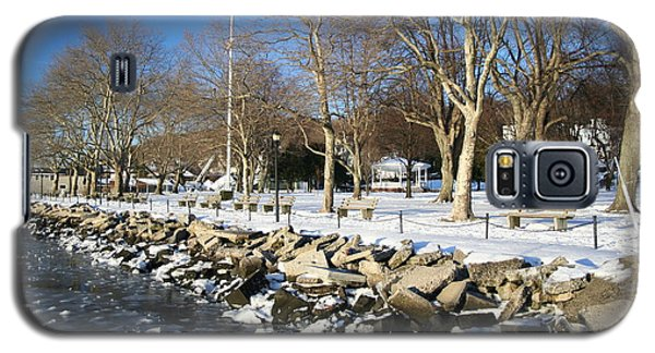 Lonely Park Galaxy S5 Case by Karen Silvestri