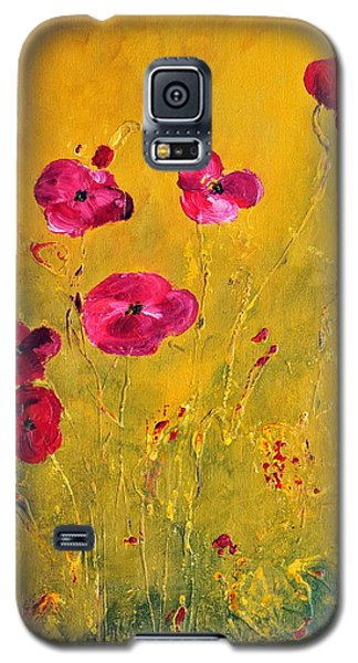 Lonely Poppies Galaxy S5 Case