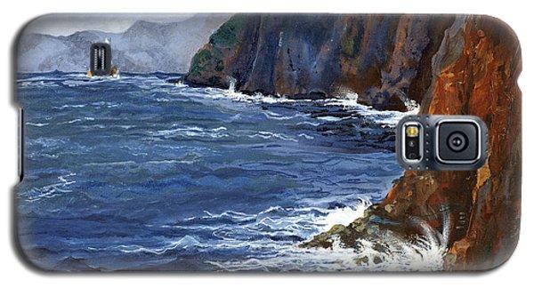 Lonely Schooner Galaxy S5 Case