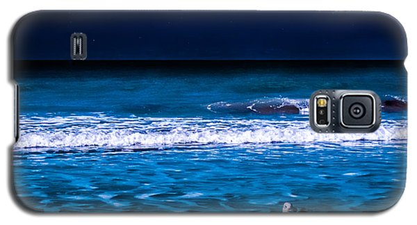 Lonely Seagull Galaxy S5 Case by Randy Sylvia