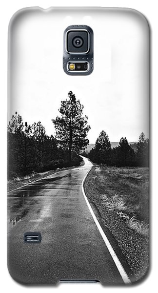 Lonesome Highway No. 2 Galaxy S5 Case by Lennie Green