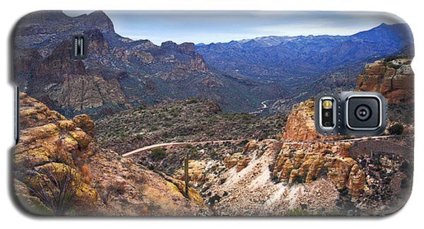 Long And Winding Apache Trail Galaxy S5 Case