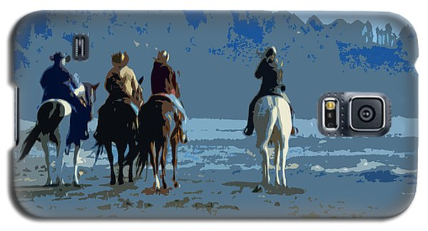 Long Beach Horses Study					 Galaxy S5 Case