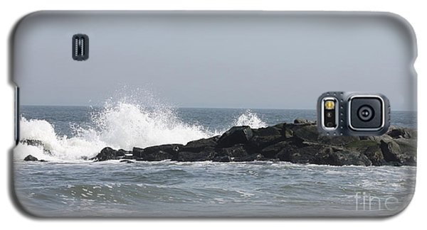 Long Beach Jetty Galaxy S5 Case by John Telfer