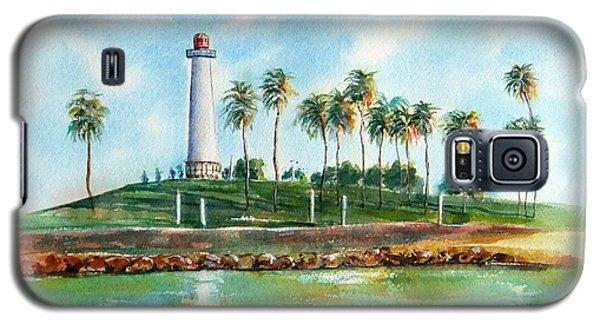 Long Beach Lighthouse  Version 2 Galaxy S5 Case
